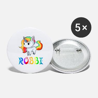 Robby Unicorn Robbi - Large Buttons