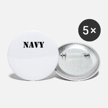 Navy NAVY - Large Buttons