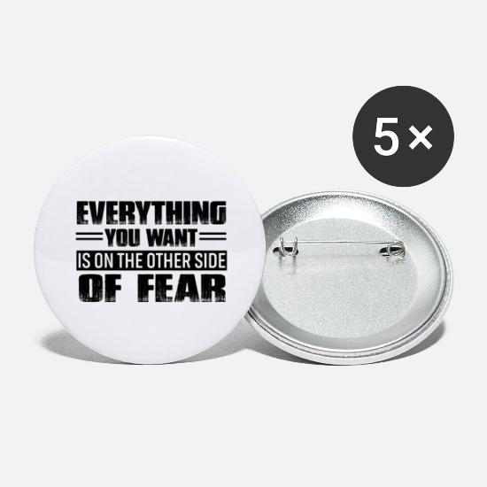 Motivation Badges - motivation - Grands badges blanc