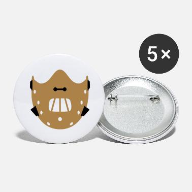 Silence The Lambs Silence Mask | Maske - Large Buttons