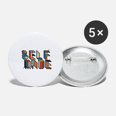 Retro Selfmade - Selbstgemacht - Retro Vingate Graffiti - Buttons groß