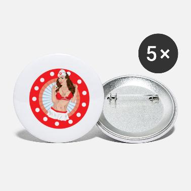 Healing Underwear Sexy nurse first aid female doctor sister - Large Buttons