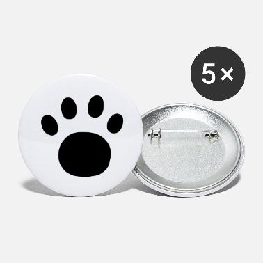 Print Paw Print - Large Buttons