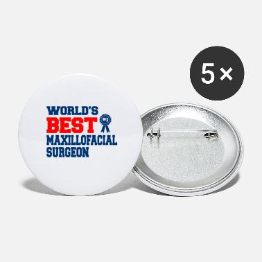 Surgeon Oral surgeon, facial surgeon, surgeon - Large Buttons