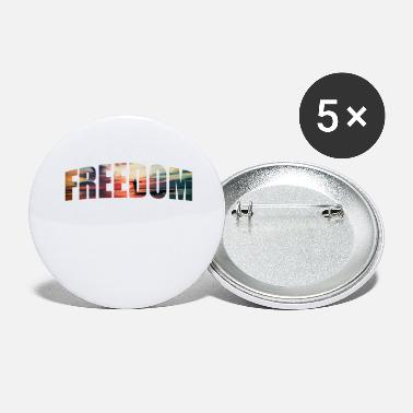 Freedom Freedom freedom - Large Buttons