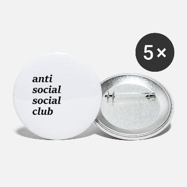 Sociale anti sociale sociale club - Buttons groot