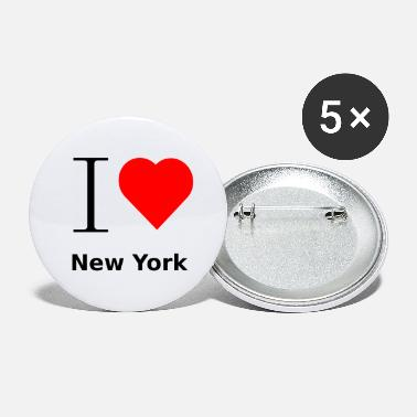 Ny I LOVE New York - Buttons groß
