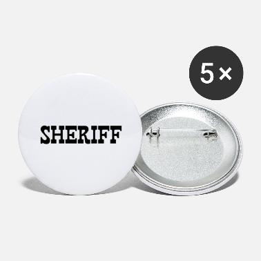 Sheriff SHERIFF - Large Buttons