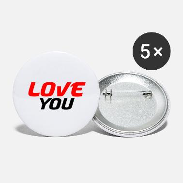 Partner I love you - Large Buttons