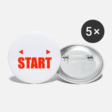 Holiday Motivational Sayings Just Startup Startup Gift Idea - Large Buttons