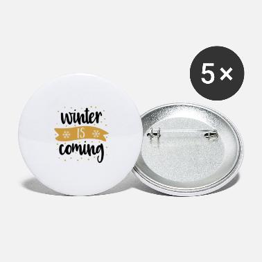 Winter WINTER - Large Buttons
