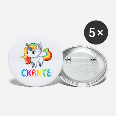 Chant Unicorn Chante - Large Buttons