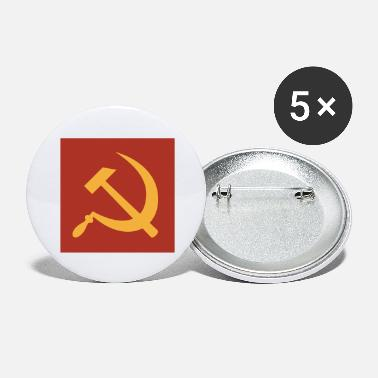Sickle Hammer and Sickle - Large Buttons