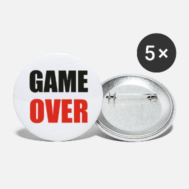 Game Over game over - Chapas grandes
