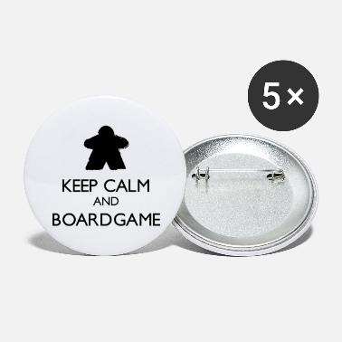 Keep Calm and Boardgame - Grands badges