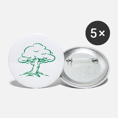 Tree Forest Nature - Large Buttons