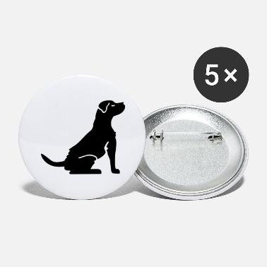 Dog Lover Dog - dog lover - Large Buttons