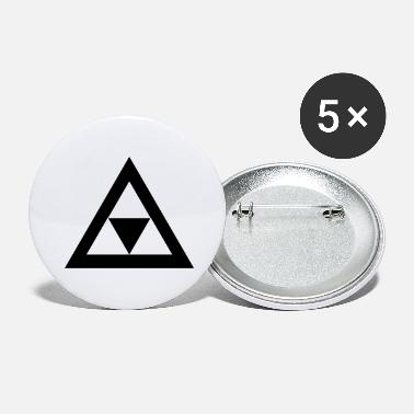 Triangle Triangle dans le triangle - Grands badges