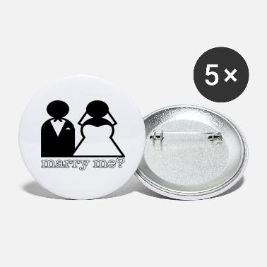 Marry Marry - Large Buttons