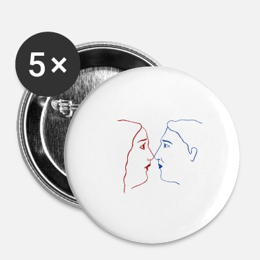 Couples Couple - Buttons large 2.2''/56 mm (5-pack)