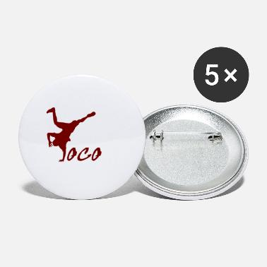 Breakdance Breakdancer loco - Grands badges