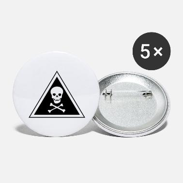 Poll skull - Large Buttons