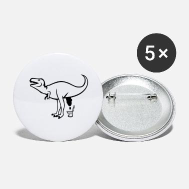 Klo dino klo - Buttons groß