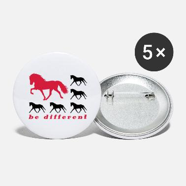 be different - Buttons groß