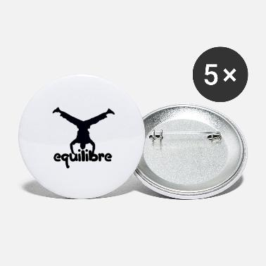Équilibre équilibre - Grands badges