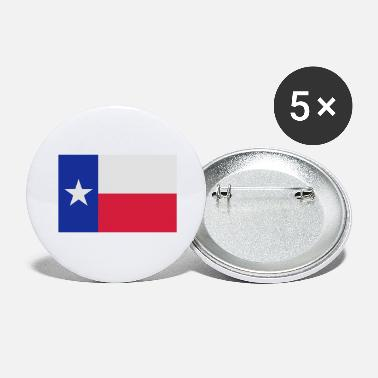 Lone Star Texas Flag Lone Star Texas Flag - Large Buttons