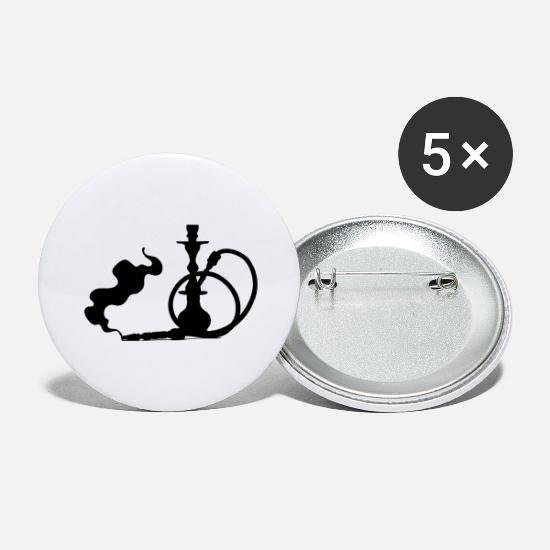 S'aimer Badges - Shisha - Grands badges blanc