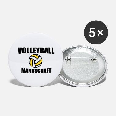 Team Volleyball team team - Large Buttons