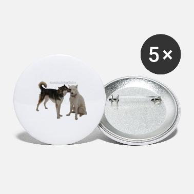 Siblings Sibling love - Large Buttons