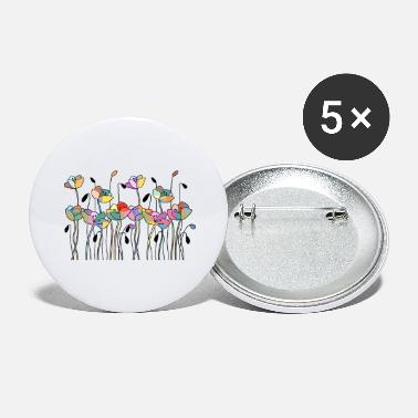 Blume flowers - Large Buttons