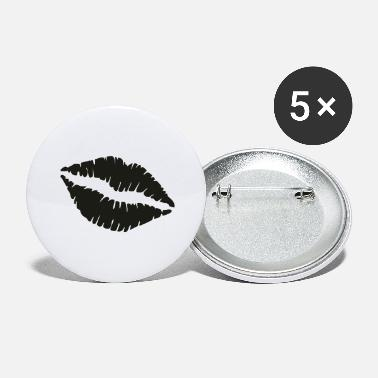 Lips lips - Large Buttons