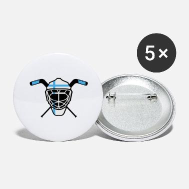 Hockey Goalie Hockey Goalie Mask Finland - Large Buttons