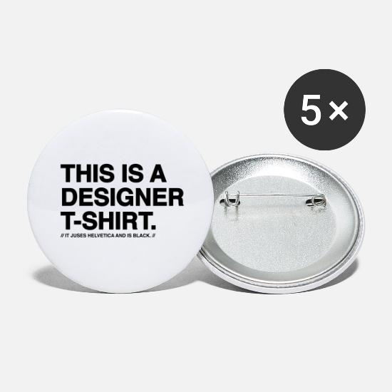New Buttons - Designer - Large Buttons white