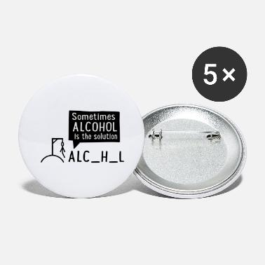 Alcohol Alcohol - Large Buttons