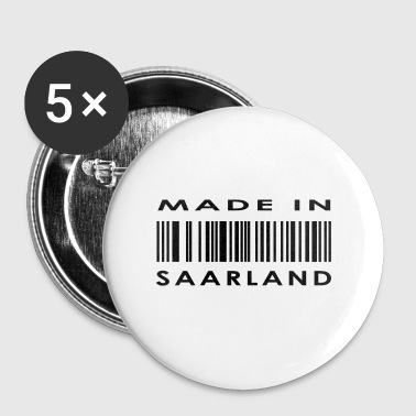 Made in Saarland - Buttons groß 56 mm