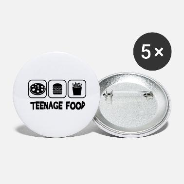 Teenager Teenage food - Grands badges