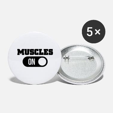 Muscle muscles - Large Buttons