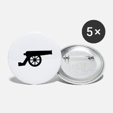 Cannonball Cannons - Large Buttons