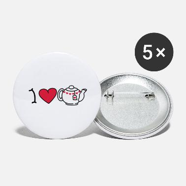 Iheart I love tea - Store buttons