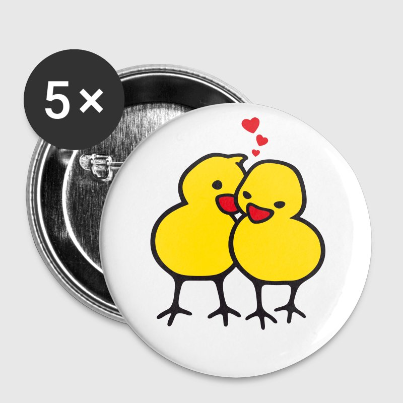 chicks in love (b) - Badge grand 56 mm