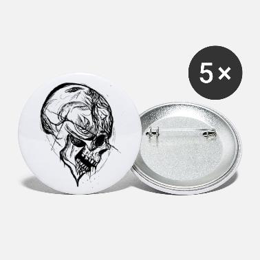 Trash Skull tattoo - Grands badges