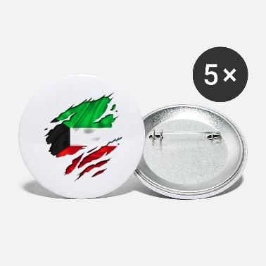 Designs Guinea Visit Wear Logo Nation With African koweit koweït kuwait - Large Buttons