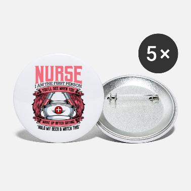 Nurse Nurse - Large Buttons