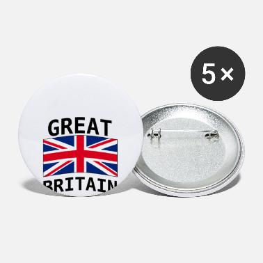 Great Britain Great Britain - Large Buttons
