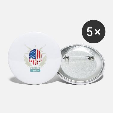 Patriot Patriots USA Patriots Day - Large Buttons