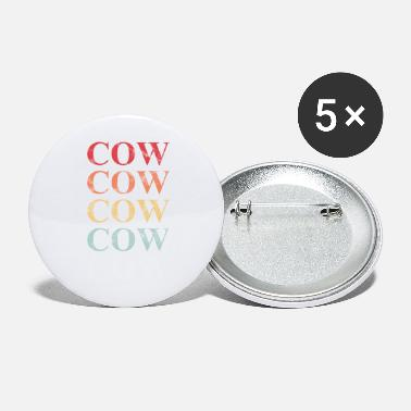 Cow Cow Cow Cow Cow Cow - Large Buttons